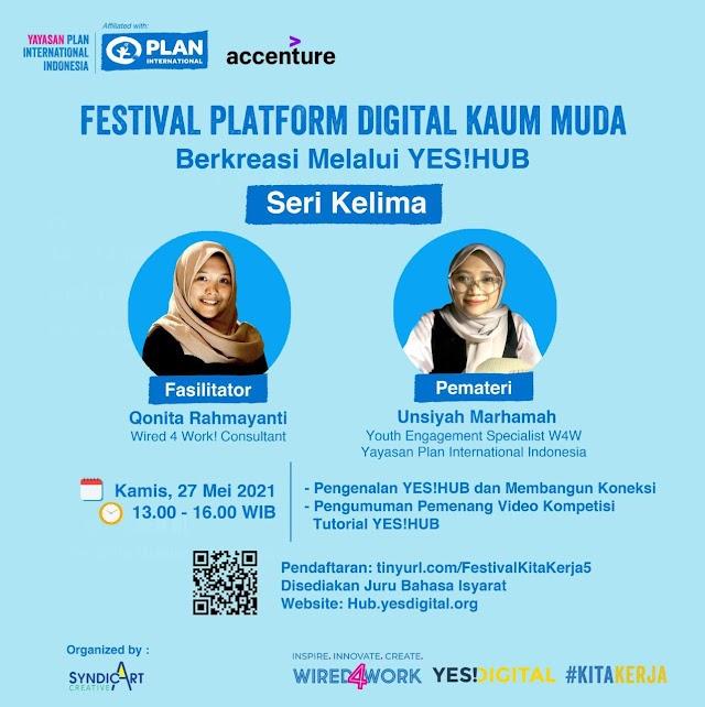 Festival Platform Digital Kaum Muda Seri Kelima