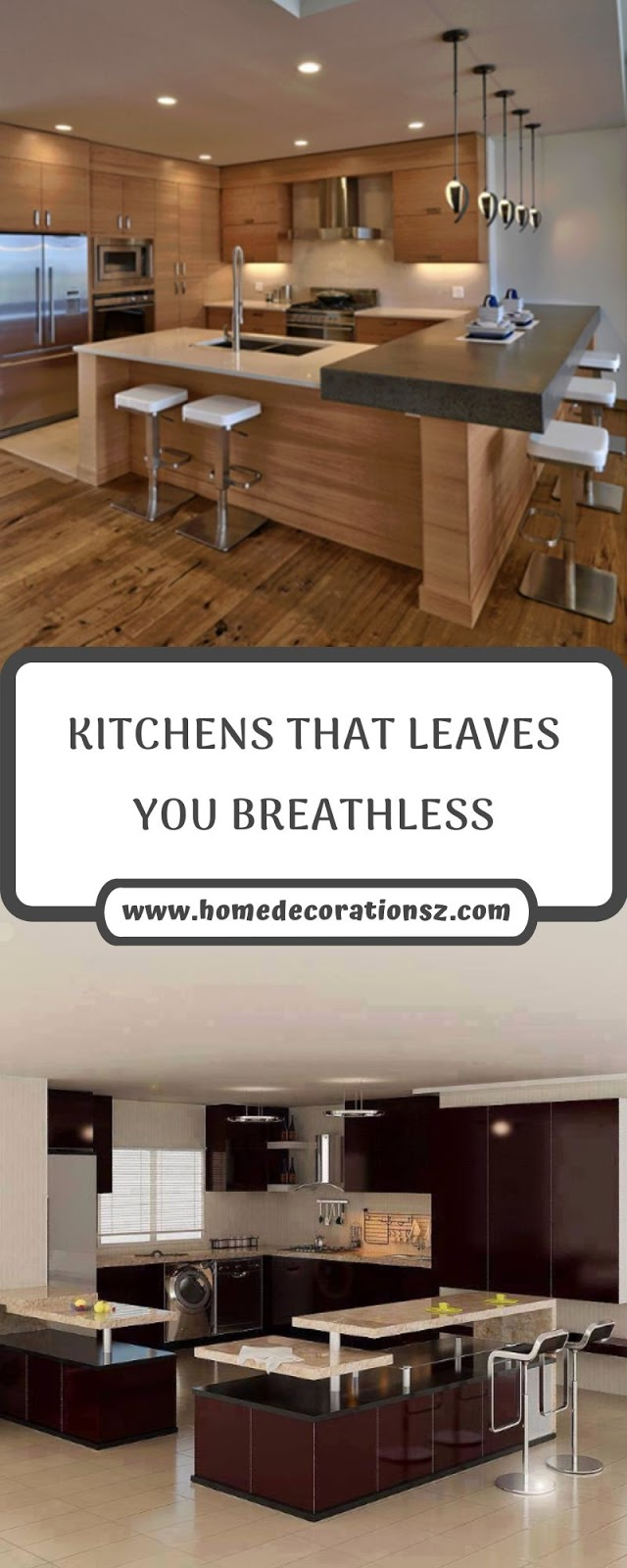 KITCHENS THAT LEAVES YOU BREATHLESS
