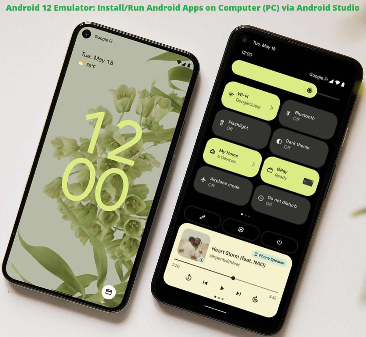 Android 12 Emulator