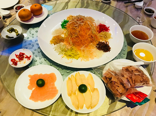 Chinese New Year Dinner at NUSS Suntec City Guild House