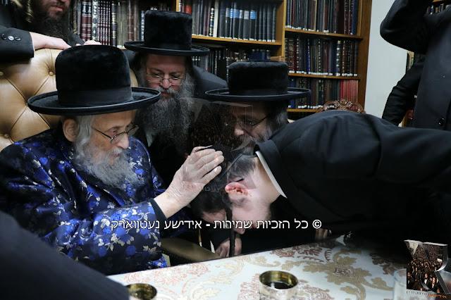 """הגה""""צ ר' אלימלך בידערמאן באזוכט גאב""""ד ירושלים שליט""""א"""