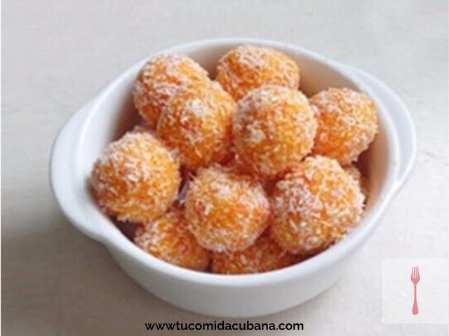 ▶️ Bombones de Zanahoria - Receta Cubana