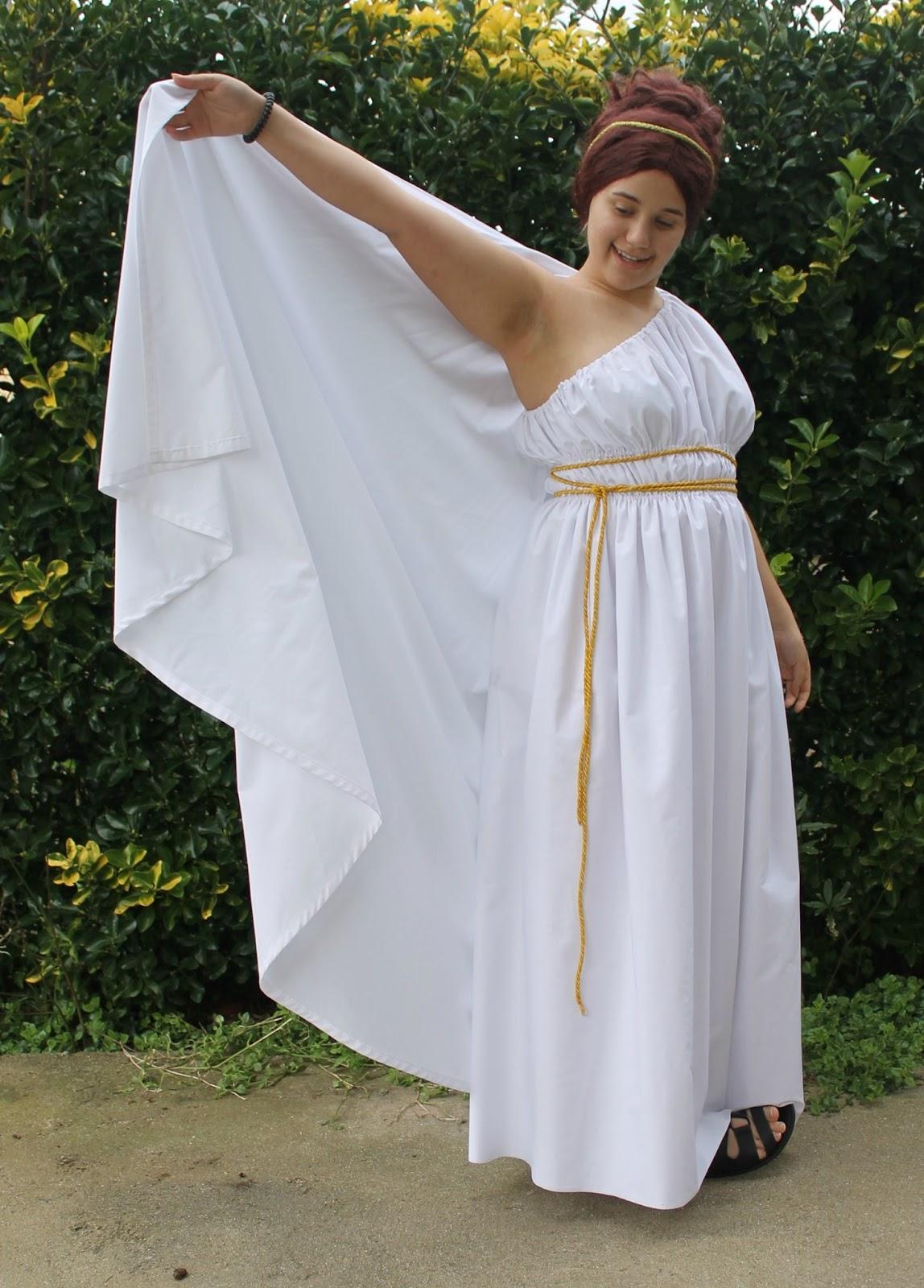 O obradoiro de Klor: Disfraz de griega o romana