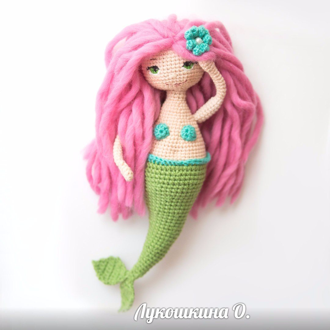 Amigurumi pattern Mermaid doll