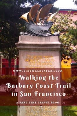 Walking the Barbary Coast Trail in San Francisco