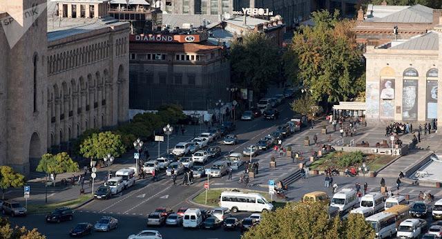 Ereván reduciría límite de velocidad a 50 km / h