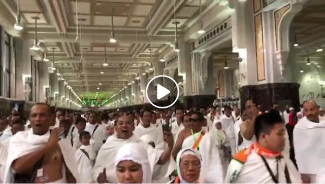 Viral Ya Lal Wathon Mekkah, Ternyata Rasulullah juga Baca Saat Thawaf
