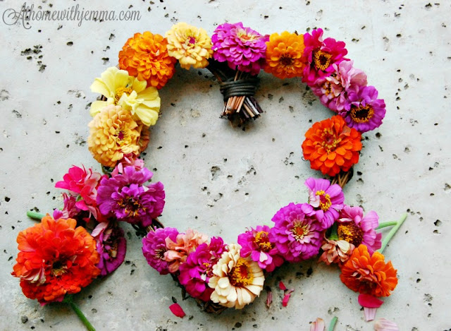 Magellan, Zinnia, perfect, flower, wreaths, gardens, bouquets,athomewithjemma.com