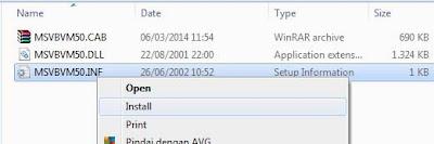Cara mengatasi msvbvm50.dll yang error atau hilang