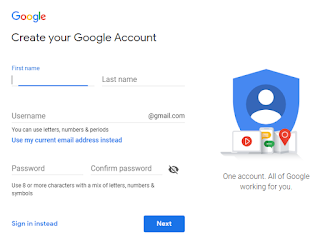 Gmail facebook sign up