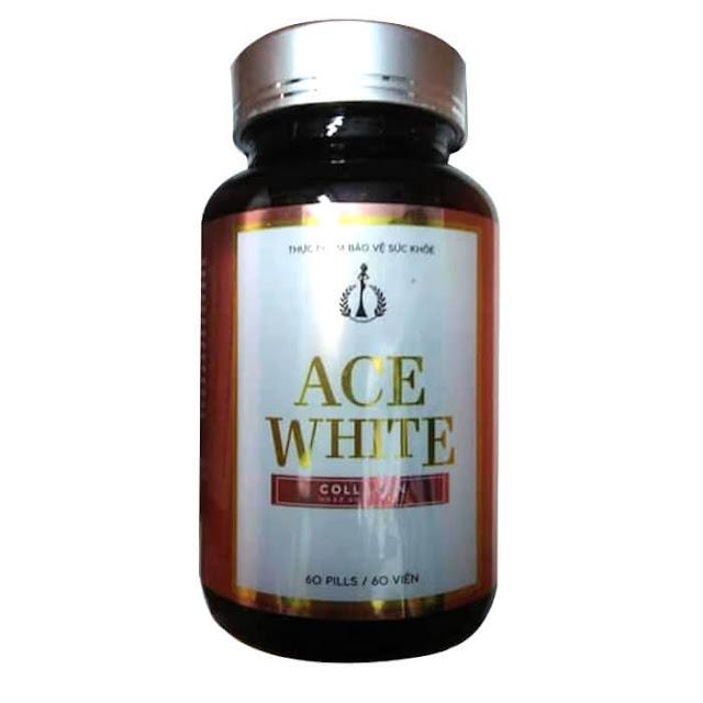 vien uong trang da ACE White