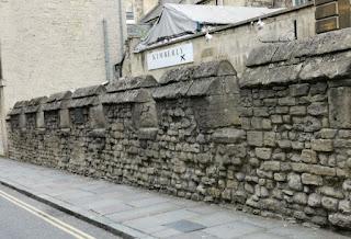 Antiguas Murallas de Bath.