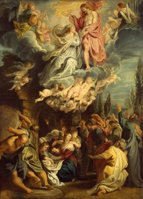 Assunzione di Maria Vergine - Pieter  Paul Rubens - Museo dell'Ermitage - San Pietroburgo