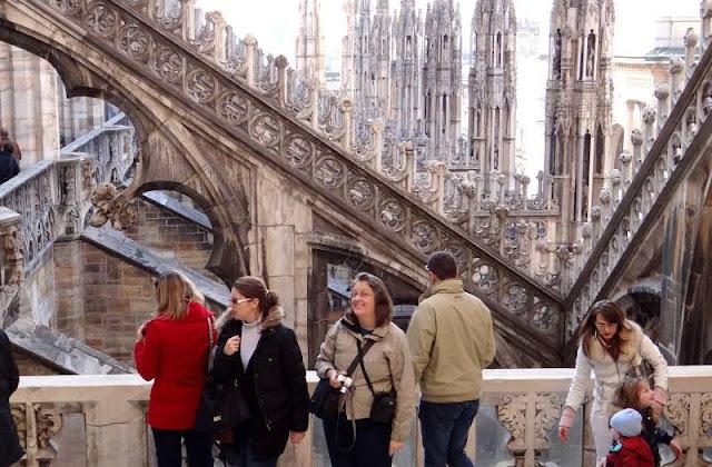 Passeio pela Catedral de Milão