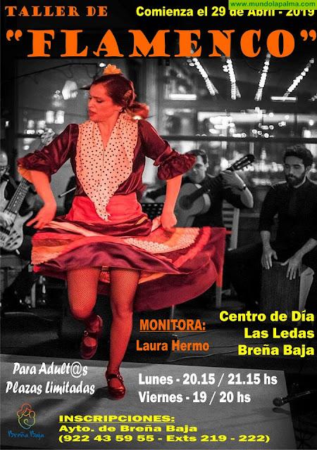 BREÑA BAJA: Inscripciones abiertas para el Taller de baile de Flamenco