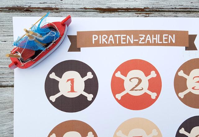 Piraten-Schatzsuche für Kinder ab 4 Jahren: Die Suchen von Ausgefuxt bieten tolle Vorlagen und Vordrucke für echte Seeräuber!