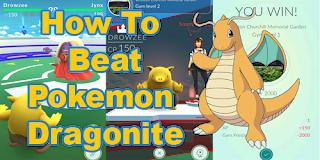 Cara Mengalahkan Pokemon Dragonite Di Dalam Pertarungan GYM Pokemon Go