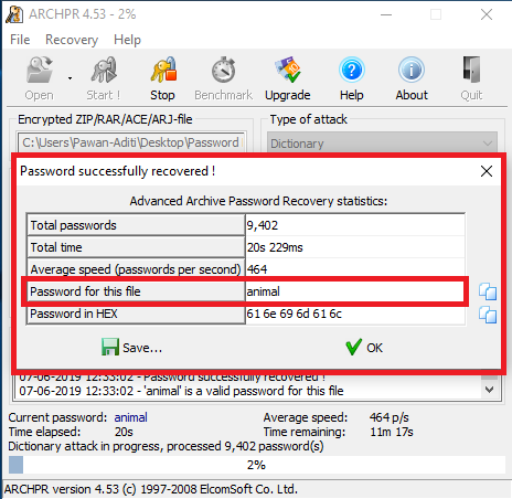 How to Open Password Protected ZIP File without Password