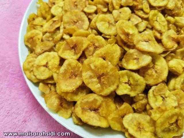 kerepek pisang nangka
