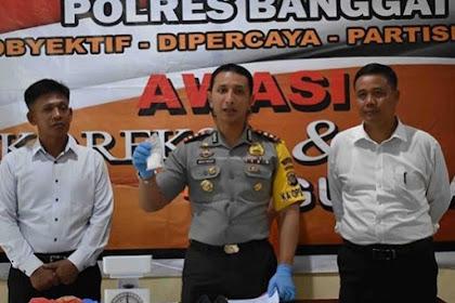 Tukang Gigi Diamankan Polisi Lantaran Sabu