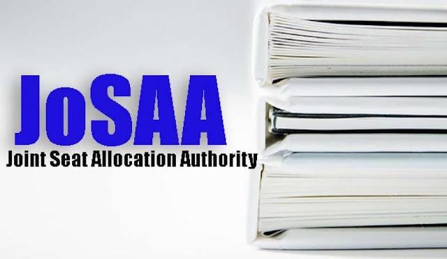 JoSAA 2020 के रजिस्ट्रेशन नोटिफिकेशन जारी - रजिस्ट्रेशन की तारीख 6 अक्टूबर से 15 अक्टूबर 2020