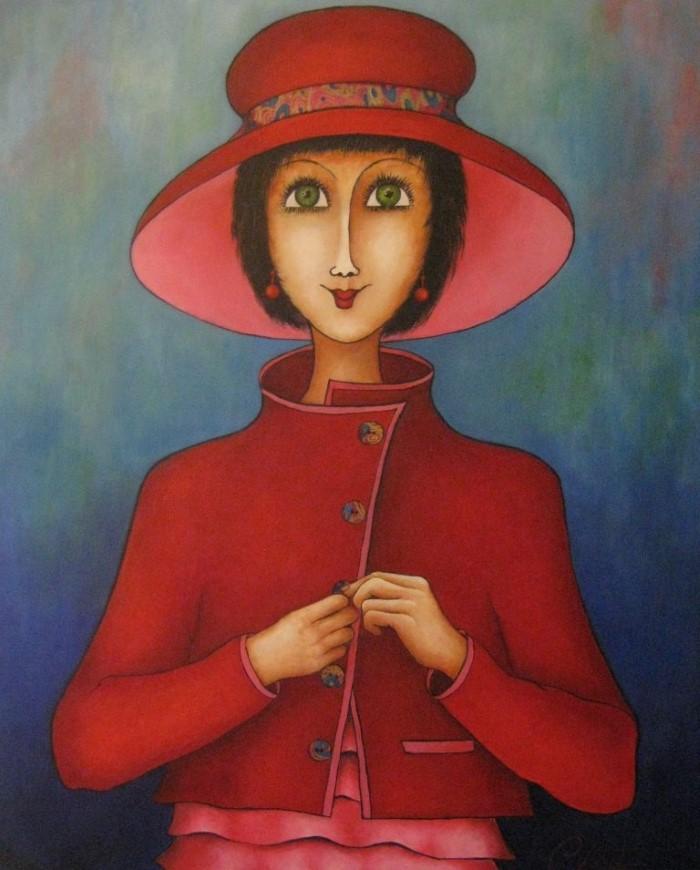 Французский художник. Veronique Clanet