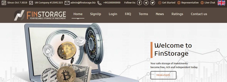 Мошеннический сайт finstorage.biz – Отзывы, развод, платит или лохотрон? FinStorage Limited Мошенники
