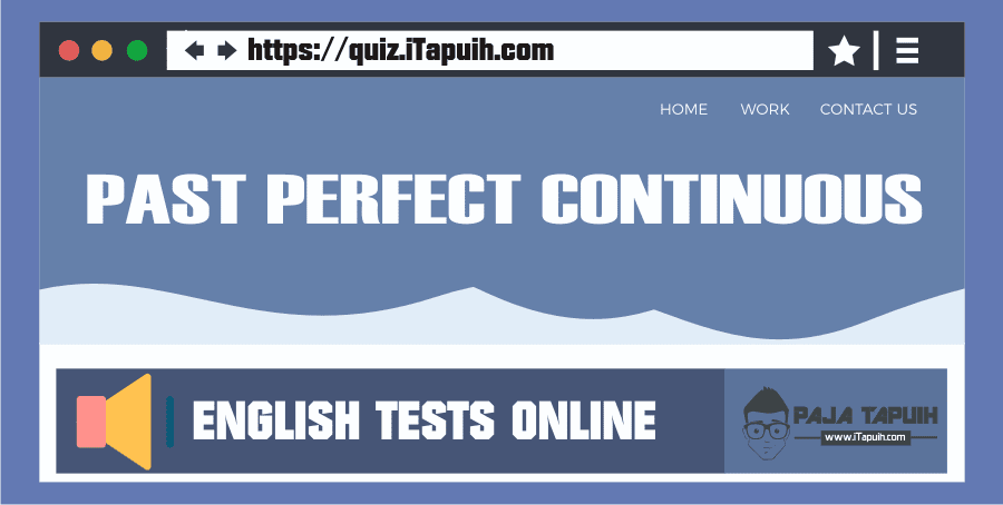 Quiz: Past Perfect Continuous Part 1