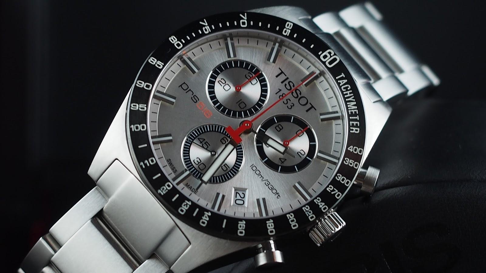 Владельцы моделей серии tissot prs могут похвастаться сочетанием в своих часах новейших технических достижений швейцарской часовой промышленности и ностальгических деталей дизайна, на тему гонок.