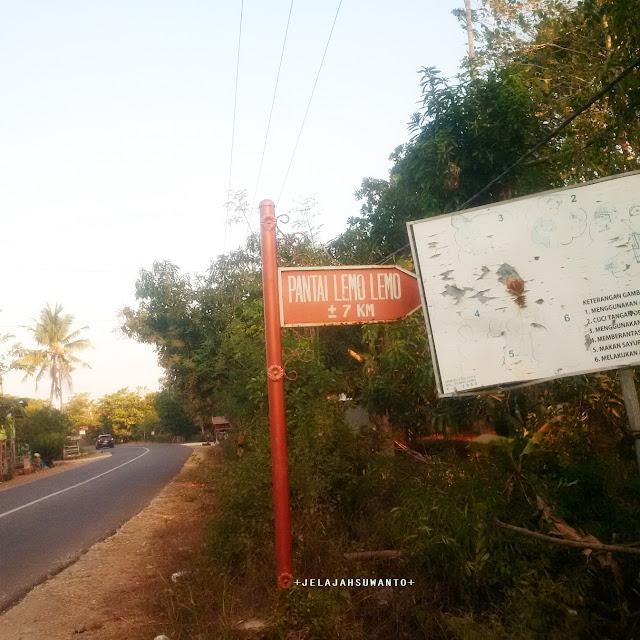 Petunjuk Jalan Pantai Lemo Lemo di poros Bulukumba || JelajahSuwanto