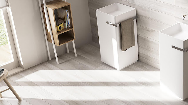 Italian porcelain tile for restroom with ECCELLENZA NR.4 collection