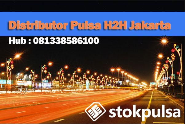 distributor pulsa h2h jakarta