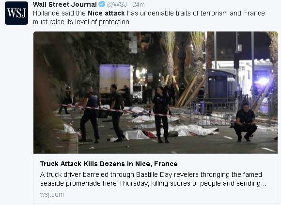 NEWS | 77 Dead, Nice Truck Attack