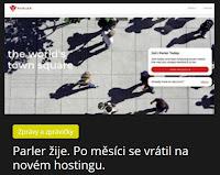 Parler žije. Po měsíci se vrátil na novém hostingu. - AzaNoviny.eu