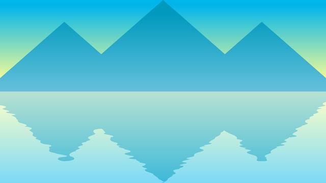 gunung di laut