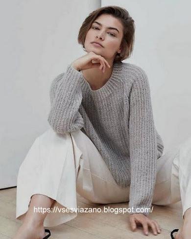 Пуловер из тонкого кашемира «Нежное облако»
