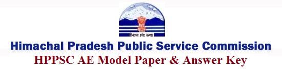 HPPSC AE Model Paper 2017 Answer Key
