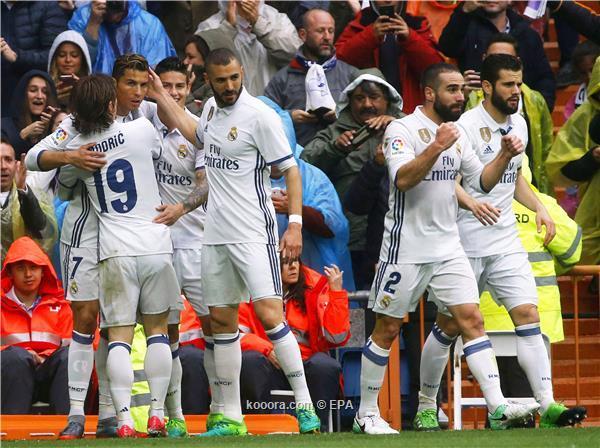 اهداف ريال مدريد وفالنسيا