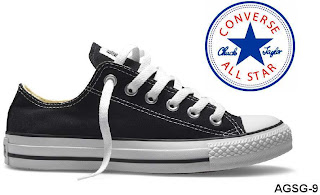 128b1bc89ecba0 Converse Chuck Taylor All-Star Ox M9166 Black White ราคา 3750 บาท  รองเท้าผ้าใบ หุ้มส้น สีดำ รุ่น M9166