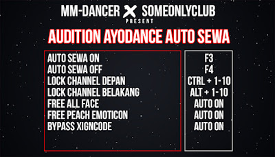 Cheat Ayodance Auto Sewa 6169