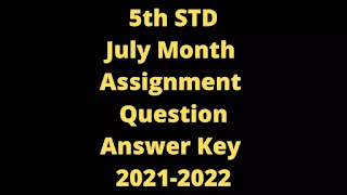 5th July Month Assignment Question Paper, Answers