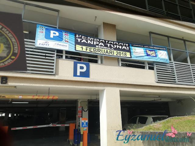 Parking di Putrajaya Sentral untuk ke KLIA / KLIA2
