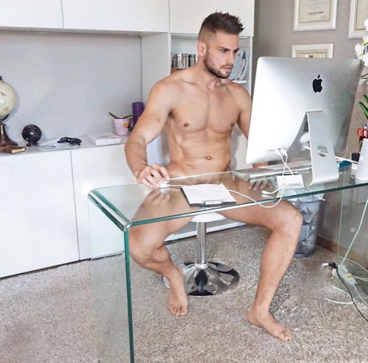 Cmnm Office Cmnm Clothed Men Naked Men