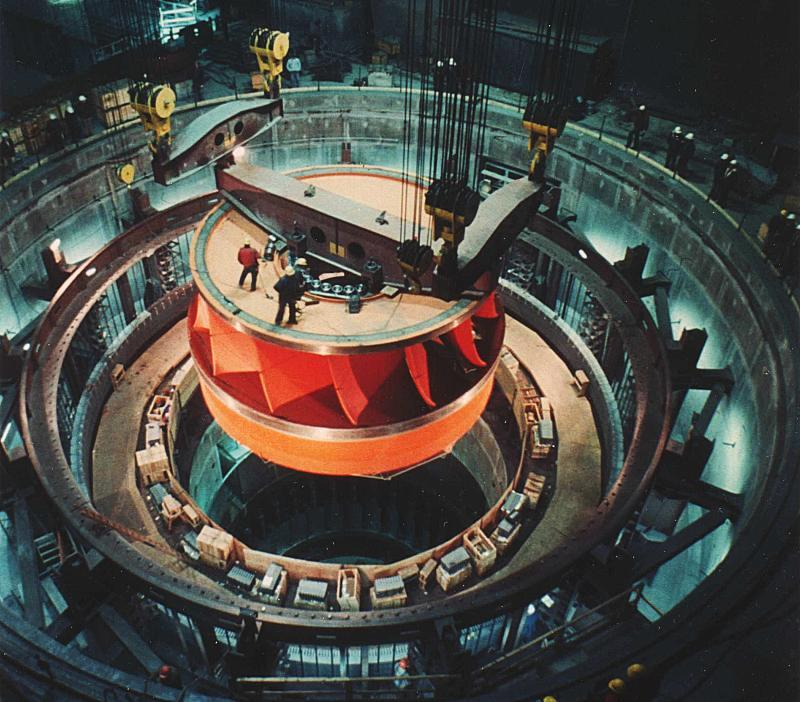 Grand Dam Turbine Coulee