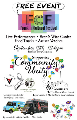 Cultural Festival flyer with highlights