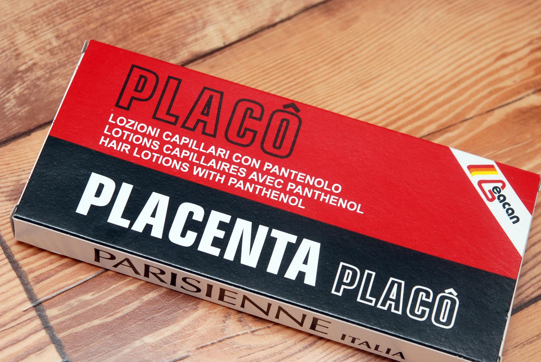 placenta placo ampułki na porost włosów 12x10ml