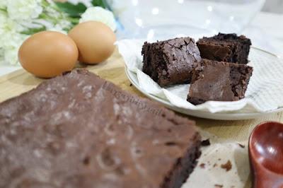 Resepi Brownies Kedut Kurang Manis Sukatan Cawan