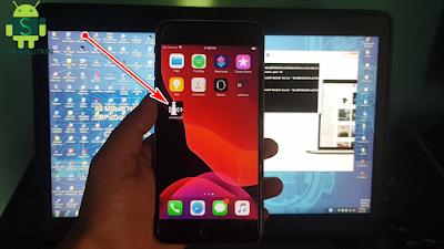 iPhone 6S Plus iOS13.5.1 Jailbreak And Install Cydia On Windows Pc.