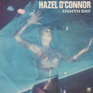 Hazel Oconner record sleeve for Eighth Day