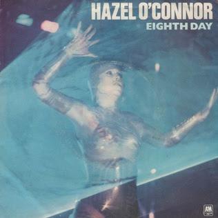 Hazel Oconner record sleeve for Eighth Day